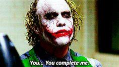 "Heath Ledger as The Joker ""A Dark Knight"" (2008)"