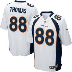 All Size Free Shipping Limited Youth Nike Denver Broncos #88 Demaryius Thomas White NFL Jersey. Have your Limited Youth Nike Denver Broncos #88 Demaryius Thomas White NFL Jersey shipped in time for the next NFL game with our low price $4.99 3-day shipping. Go G-Men!$69.99