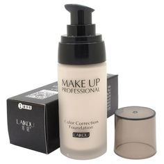 Whitening Liquid Foundation Concealer 3 Colors Moisturizer Oil-control Waterproof Makeup C83