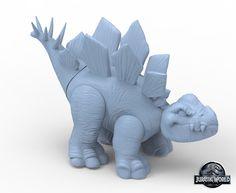 Jurassic World Toy Sculpts | CGVILLA