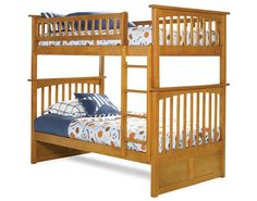 Atlantic Furniture Columbia Bunk Bed www.DEQOR.com