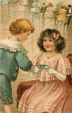 Ellen Jessie Andrews - English - vintage postcard