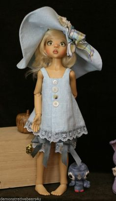 Kaye Wiggs Anitque Lace OUTFIT 4pc Set Dollstown & OTHER 55CM BJD ~Sisters Grimm #KayeWiggs #BJD