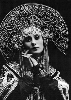 Anna Pavlova in Russian costume. From 1911. Courtesy of BFI ©.