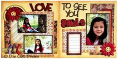 Scrapbook Layout Kits on Sale $7  All kits are precut, predesigned and easy to assemble. All you need is your adhesive and ink and you are ready to go!!! Take a look at www.diecutdivas.com