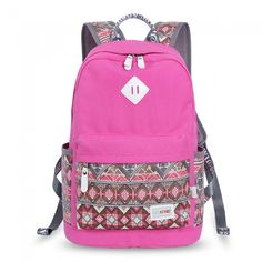 Wow! Folk Geometry Trunk Patterns Mixed Colors Computer School Backpack only $38.99 from ByGoods.com! I like it so much!!