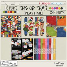 He Plays - Bundle by Connie Prince