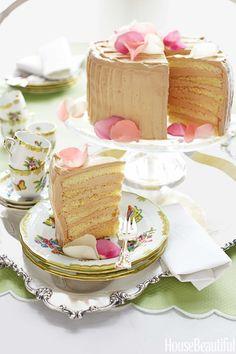 Salted Caramel Cake from Alex Hitz  - HouseBeautiful.com