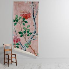 'Fragment of wallpaper' Wallpaper Mural Of Wallpaper, Botanical Gardens, Wall Murals, Sweet Home, Bloom, Cushions, Stencil, Floral, Pattern