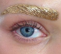 Glitter eyebrows from Dior SS14 at #PFW | make up ideas ...