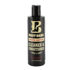 Boot Barn® Exotic Leather Cleaner & Conditioner
