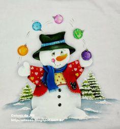 Clique para acessar o risco do boneco de neve.