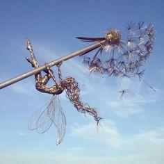 spring fairy, trentham dsandelions, amy wight, robin wight,