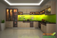 Tủ bếp gỗ MFC dạng chữ L – TBL03 Kitchen Cabinet Design, Kitchen Colour Combination, Kitchen Decor, Modern Kitchen, Kitchen Modular, Trendy Kitchen Tile, Kitchen Furniture Design, Condo Kitchen, Vintage Kitchen Cabinets
