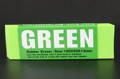 Giant Green Eraser
