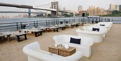 Beekman Beer Garden and Beachclub...I will definitely be here in the summer!
