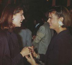Princess Caroline and sister Princess Stéphanie of Monaco.