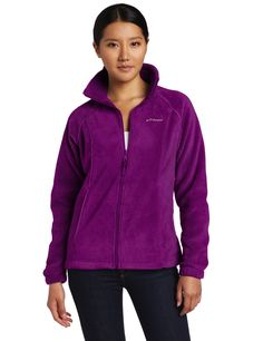 Columbia Women's Benton Springs Full-Zip Fleece Jacket * New and awesome product awaits you, Read it now  : Women clothing