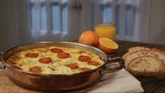 Frittata de Presunto e Tomate - Prato do Dia 2 | 24Kitchen