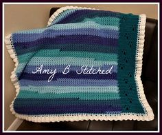 MEANDERING PAW PRINTS BABY BLANKET is a collaboration between myself and Donna of Donna's Designs (donnaipswich here on Ravelry). It is a beautiful keepsake blanket with the meandering paw prints panel running up the side of the cross stitched body and a mock ruffle edging the blanket. There are a couple of video links included in the pattern to help you with stitches/concepts.