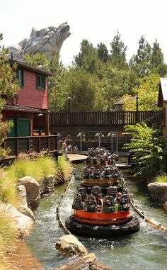 Grizzly River Run at Disney's California Adventure...loved this ride even though u will never get out dry.