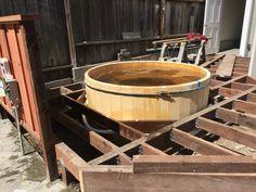 Cedar Hot Tub And Deck