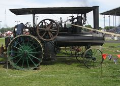 1911 Peerless Steam Engine, via Flickr.