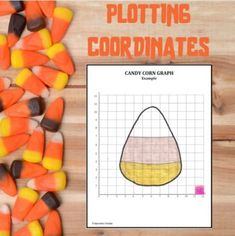 Plotting Coordinates Fall and Autumn Math Worksheets by Innovative Teacher Graphing Worksheets, Autumn Theme, Math Resources, Math, Early Math