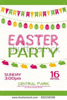 Cinco de mayo invitation poster mexican party event my vector easter party invitation vector poster stopboris Images
