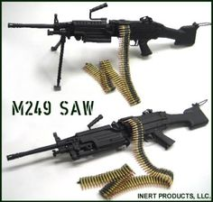 M249 Squad Automatic Weapon | M249 SAW (Squad Automatic Weapon) image - Military Personnel Arms