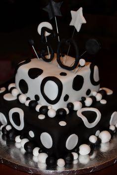 Fun 50th Birthday cake :)