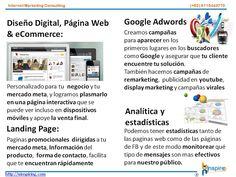 Diseño Digital, Páginas Web & eCommerce, Landing Pages, Catálogos Google Adwords, Device, SEO Analítica y estadística  contacto@uinspiring.com http://uinspiring.com/