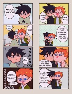 I thought it'd be canon that Shou could come up with all those weird shit puns and all.