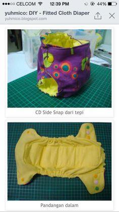 Sewing diaper 1c