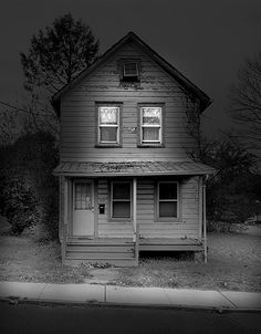 I like how dark and eerie this house is.