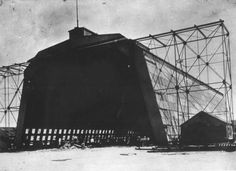 Dirigible shed at the U.S. Naval Air Station - Key West, Florida