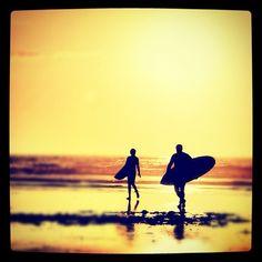 #Surf & #Sunset