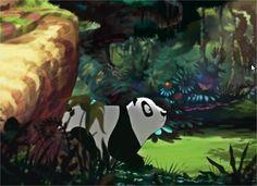 Voici une vidéo d'animation qui stimulera l'imagination des enfants. Mais pas seulement, car il est aussi question de compassion pour la tristesse du panda qui reste en noir et blanc alors que la forêt dans laquelle il vit revêt de vibrantes couleurs.