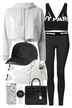 A fashion look from April 2016 featuring Topshop, Ivy Park and yves saint laurent bags. Browse and shop related looks. Swag Outfits For Girls, Lazy Day Outfits, Cute Comfy Outfits, Sporty Outfits, Athletic Outfits, Dance Outfits, Simple Outfits, Cool Outfits, Fashion Outfits