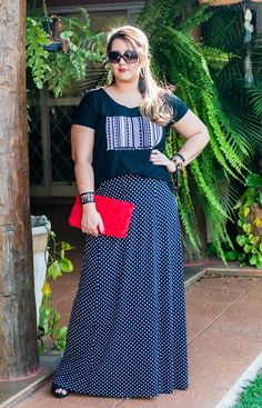 Look Plus Size: PB by Cayro   MaGGníficas