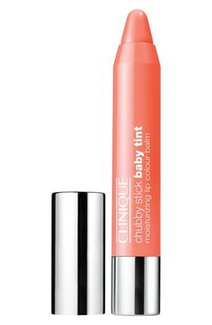$17.00 Clinique 'Chubby Stick Baby Tint' Moisturizing Lip Color | Nordstrom: Poppin Poppy