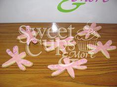 Cookies Libélulas para el Baby Shower de Jazmín