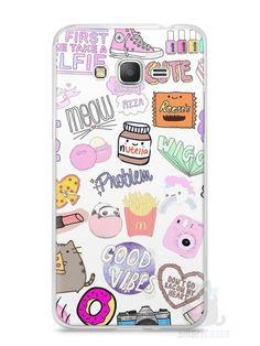 Capa Samsung Gran Prime Coisas de Menina - SmartCases - Acessórios para celulares e tablets :)