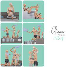 Family Posing, Couple Posing, Sims 4 Stories, Sims 4 Piercings, Sims 4 Cc Folder, Sims 4 Family, Sims 4 Black Hair, Manga Poses, Group Poses