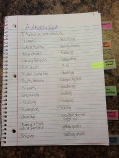 ~*~ Apples of Your Eye! ~*~: Writer's Notebook Organization!