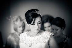 black and white vintage wedding Photography Gallery, Wedding Photography, One Shoulder Wedding Dress, Black And White, Wedding Dresses, Vintage, Fashion, Wedding Shot, Black White