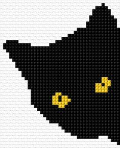 Supreme Best Stitches In Embroidery Ideas. Spectacular Best Stitches In Embroidery Ideas. Cross Stitch Freebies, Cross Stitch Charts, Cross Stitch Designs, Cross Stitch Patterns, Loom Patterns, Cat Cross Stitches, Cross Stitching, Cross Stitch Embroidery, Pixel Pattern