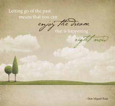 Let it pass, let it go, let it leave...