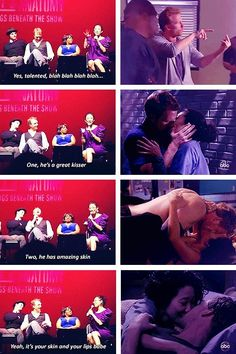 """""""What's your favourite part about working so closely with Kevin McKidd?"""""""