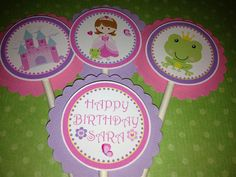 Pretty Princess and Frog with Castle Birthday by PartyCelebrations, $9.99